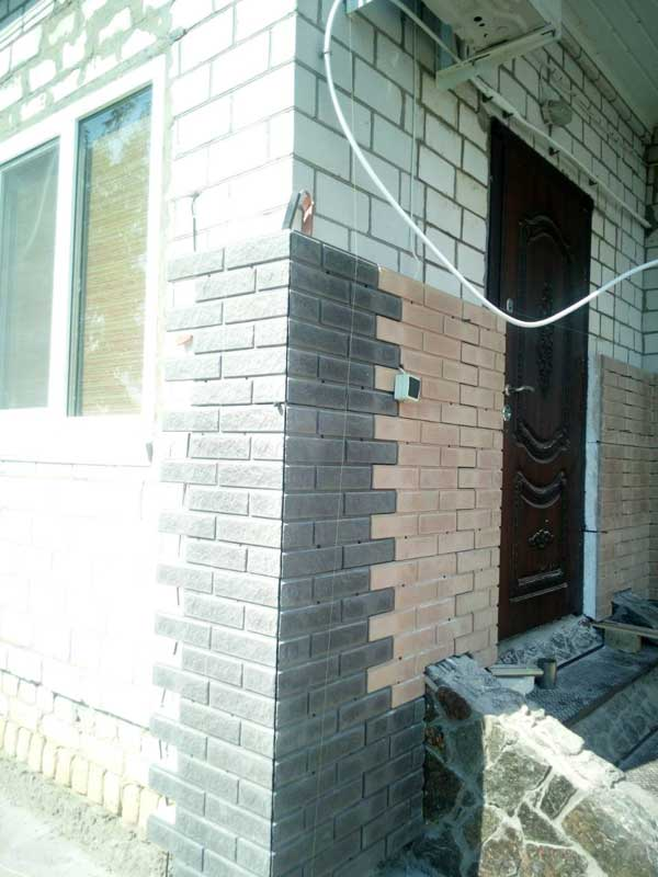 Утепление дома в селе Леськи термопанелями